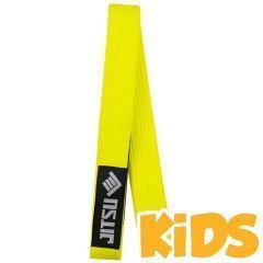 Детский пояс для кимоно БЖЖ Jitsu Yellow