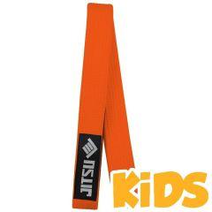 Детский пояс для кимоно БЖЖ Jitsu Orange