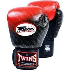 Перчатки боксерские Twins Special black - red