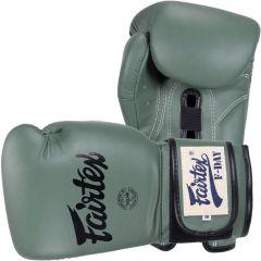 Боксерские перчатки Fairtex F-Day green