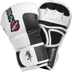 Гибридные мма перчатки Hayabusa Tokushu 7oz Hybrid Gloves wh-bl
