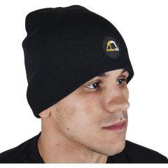 Зимняя шапка manto emblem black