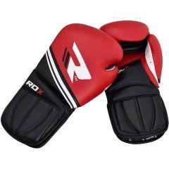 Боксерские перчатки RDX black - red