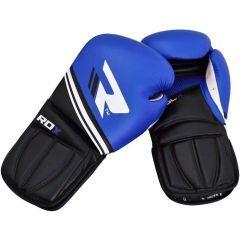 Боксерские перчатки RDX black - blue