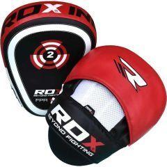 Боксерские лапы RDX black - red