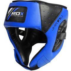Детский боксерский шлем RDX black - blue