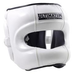 Боксерский Шлем Ultimatum Boxing Gen3FaceBar white