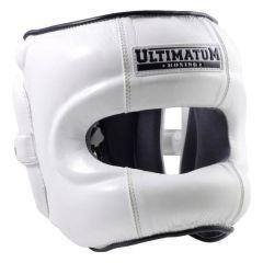 Боксерский Шлем Ultimatum Boxing Gen3FaceBar white