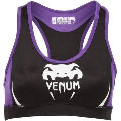 Женский тренировочный топик Venum Fit Top black