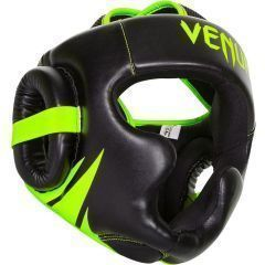 Боксерский шлем Venum ChallenGer 2.0 black green