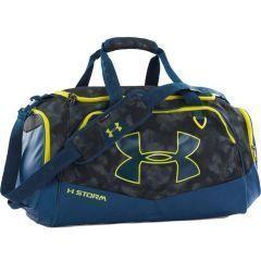 Спортивная сумка Under Armour Storm blue - yellow