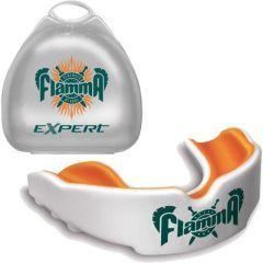 Боксерская капа Flamma white - orange