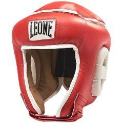 Боксерский шлем Leone Combat red
