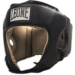 Боксерский шлем Leone black