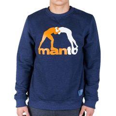 Свитшот Manto Classic Denim Blue