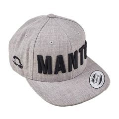 Бейсболка Manto Eazy`17 gray - black