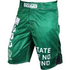MMA шорты Scramble No Mind Jade green