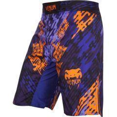 ММА шорты Venum Neo Camo blue - orange