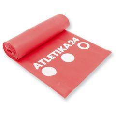 Латексная лента красная 2,5 м - среднее сопротивление