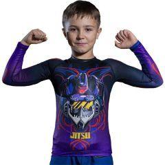 Детский рашгард Jitsu Soundwave Purple