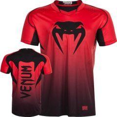 Тренировочная футболка Venum Hurricane X-Fit red