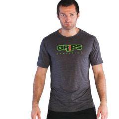 Футболка Grips Athletics Baseline gray - green
