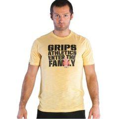 Футболка Grips Athletics Family yellow