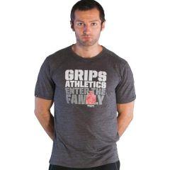 Футболка Grips Athletics Family gray