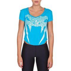 Женская футболка Venum Assault blue