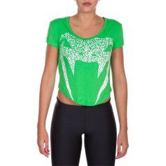 Женская футболка Venum Assault green