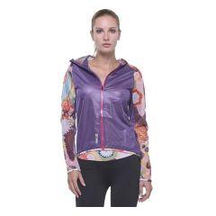 Женская легкая ветровка Grips Athletics Power Flower purple
