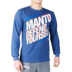Лонгслив Manto Defend blue