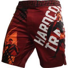 MMA Шорты Hardcore Training Sparta Red