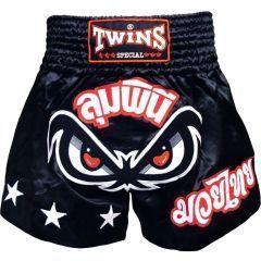 Детские шорты для тайского бокса Twins Special black