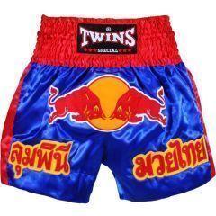 Детские шорты для тайского бокса Twins Special blue - red