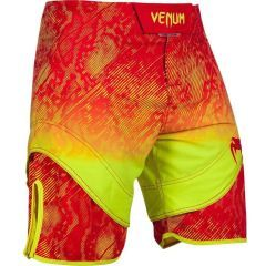 ММА шорты Venum Fusion red - yellow
