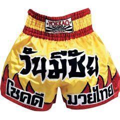 Тайские шорты Yokkao Red Flames