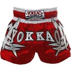 Тайские шорты Yokkao Ekapop Sor. Klinmee red