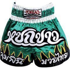 Тайские шорты Yokkao Ekapop Sor. Klinmee green