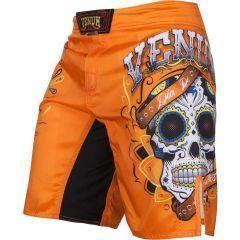 ММА шорты Venum Santa Muerte 2.0 orange