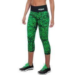 Женские компрессионные бриджи Venum Fusion green
