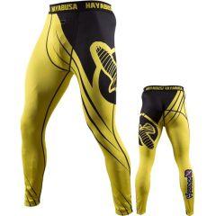 Компрессионные штаны Hayabusa Recast black - yellow