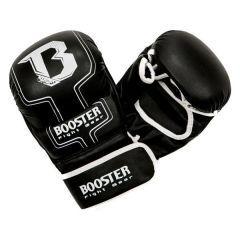 Гибридные перчатки (накладки) Booster black