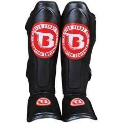Защита голени и стопы Booster SG Thai black - red