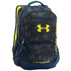 Рюкзак Under Armour Hustle II blue - yellow