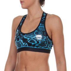Женский тренировочный топик Venum Fusion blue