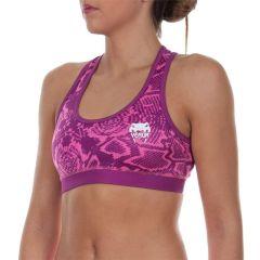 Женский тренировочный топик Venum Fusion pink