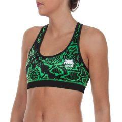 Женский тренировочный топик Venum Fusion green