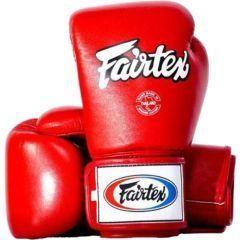 Боксерские перчатки Fairtex Tight-Fit BGV1 red
