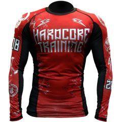 Рашгард Hardcore Training 0820 red